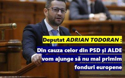 PSD și ALDE ne scot din Europa doar ca să scape cu banii furați