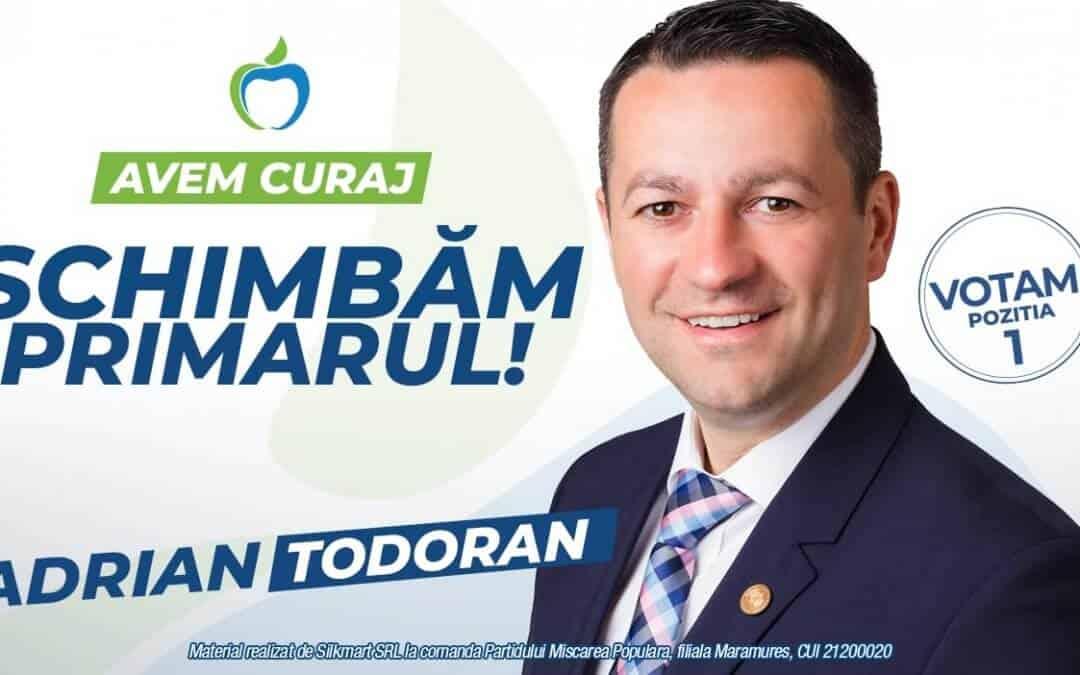 Adrian Todoran: RESPECT pentru ÎNVĂȚĂMÂNT